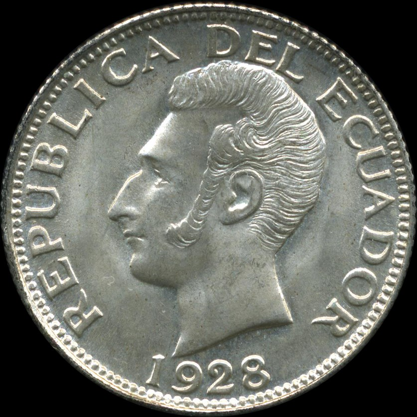 THE COINS OF ECUADOR by Anderson and Seppa