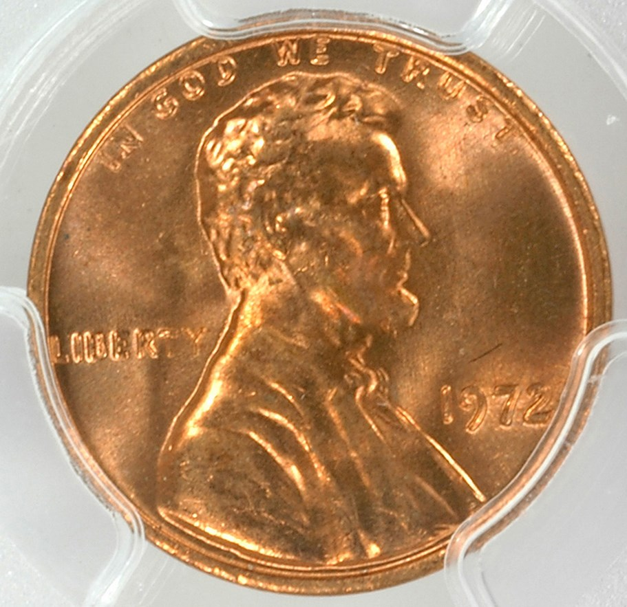FS-103 Coin Details - Mr Mitosis 1972 Lincoln Cent Doubled