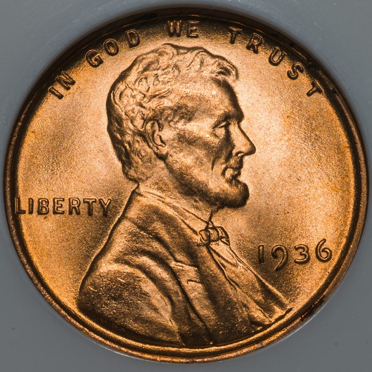 15/% off 5+ 1936 P Lincoln Wheat Penny