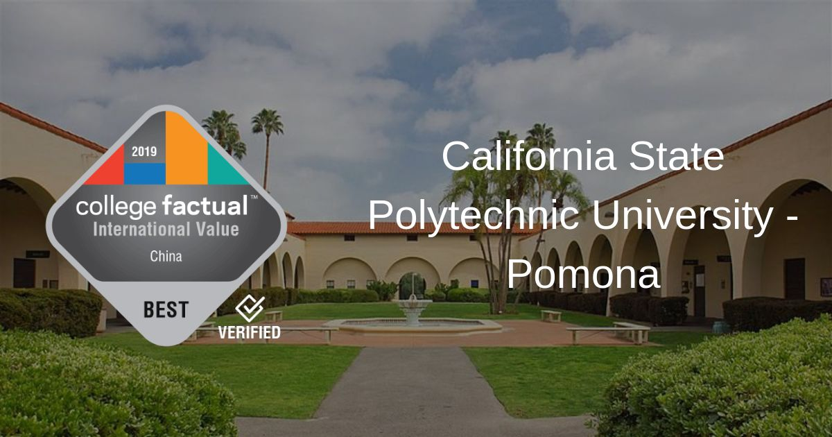 CSU Pomona Is a Great Value for Students from China, Say