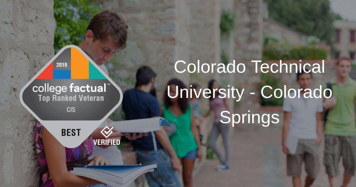 Colorado Technical University - Colorado Springs Is a Great