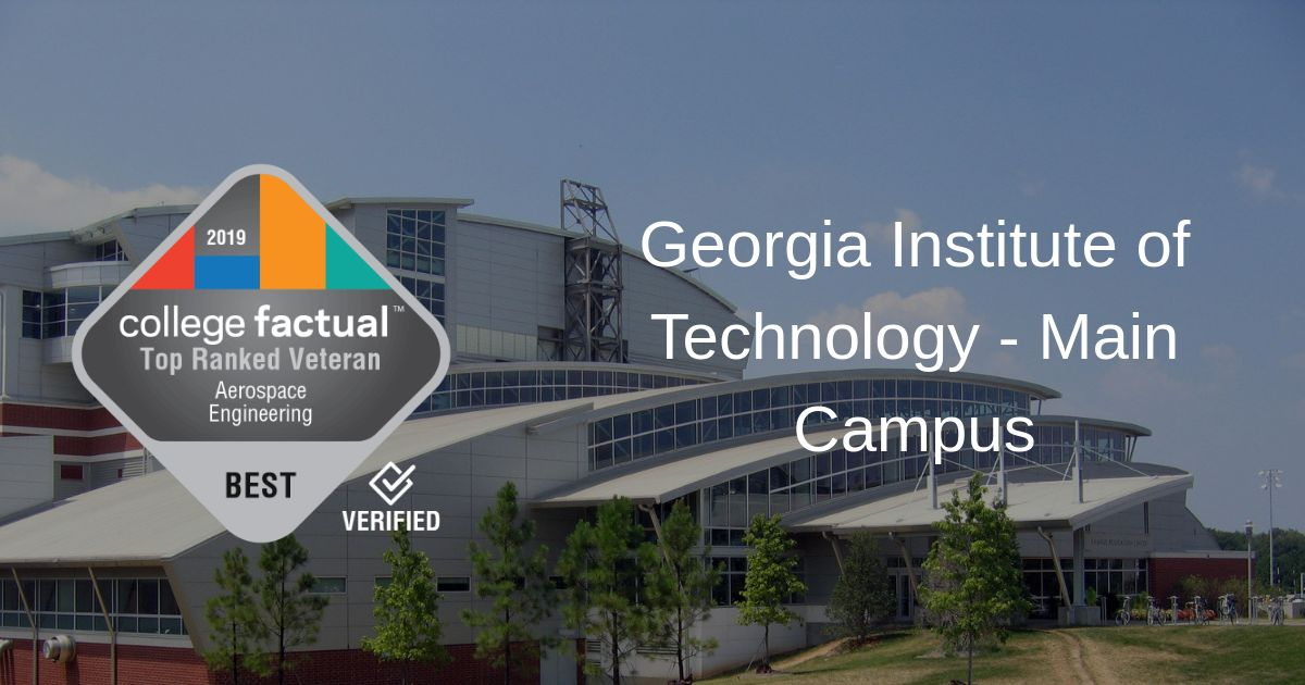 The Aerospace Engineering Major At Georgia Institute Of Technology Main Campus College Factual