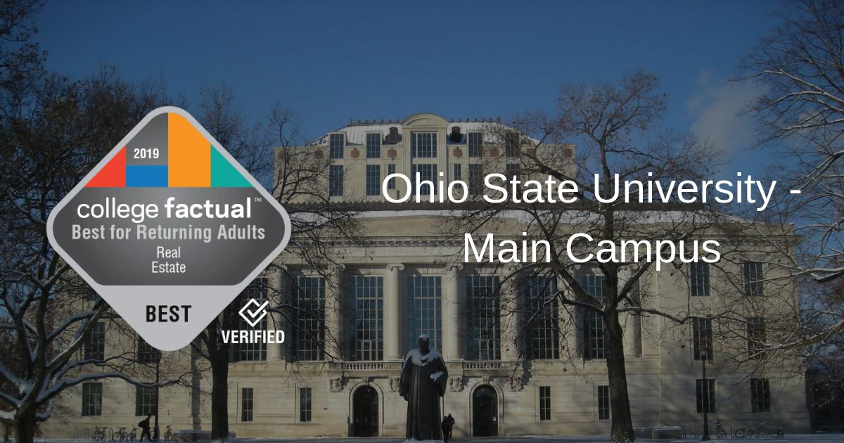 Ohio State Is #1 in Best Real Estate Programs in Ohio for