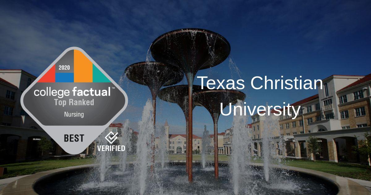 Tcu Graduation 2020.Tcu Nursing Program Is 20 In Nation Best In Texas