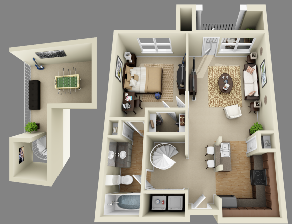 College Apartments in Lubbock | College Student Apartments