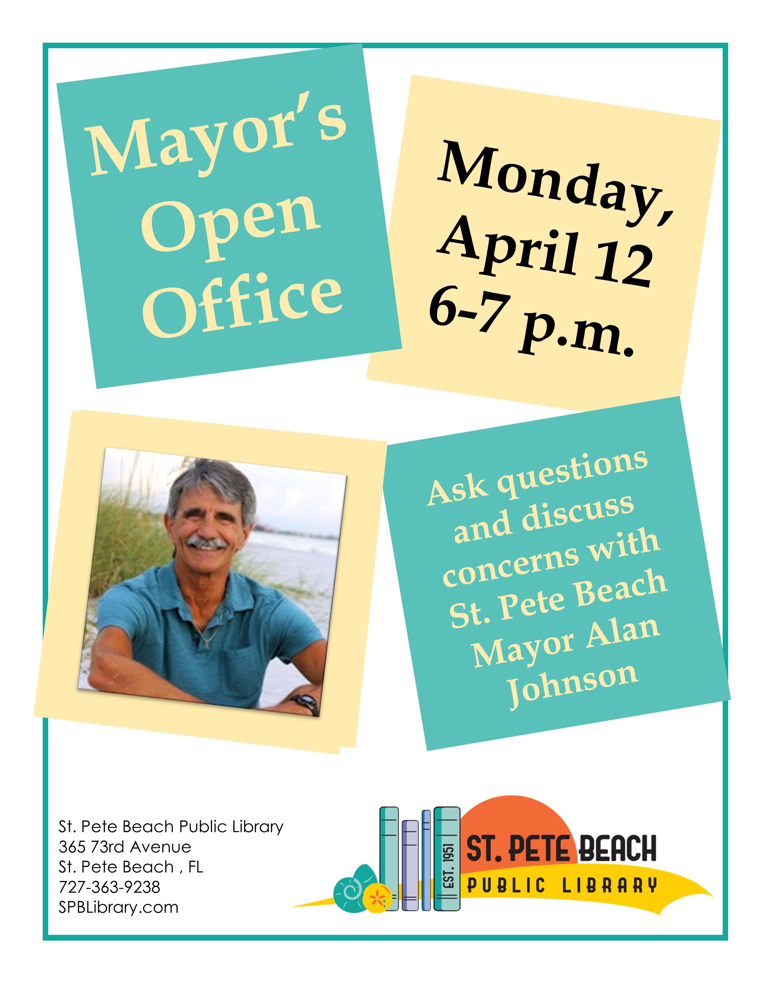 Mayor Johnson Open House