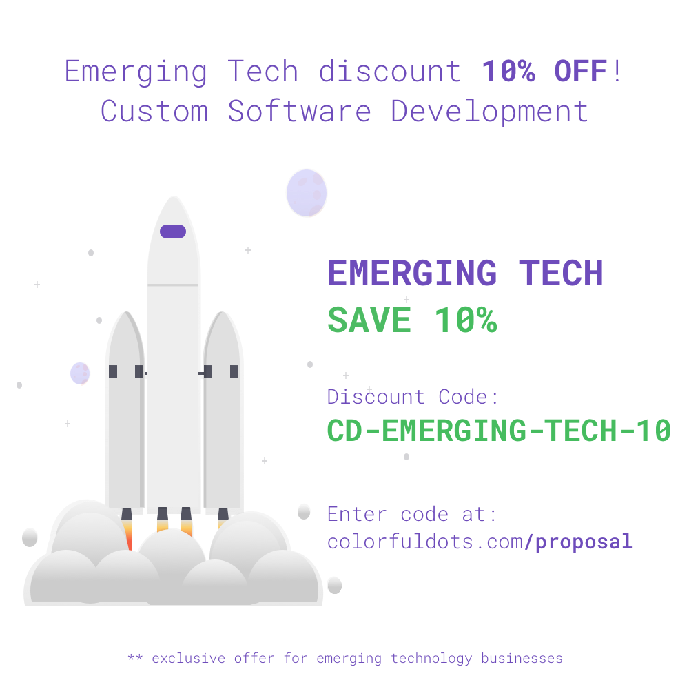 Colorful Dots, LLC - Discounts for Emerging Technology Businesses