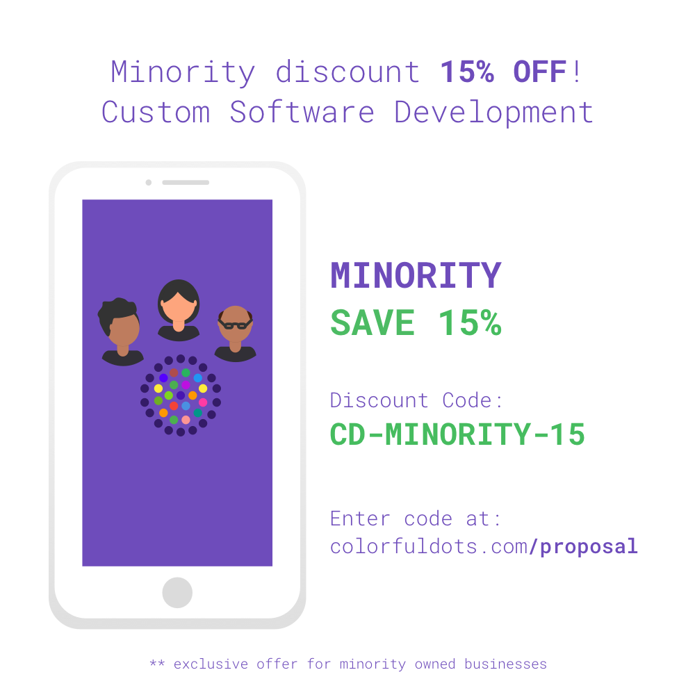 Colorful Dots, LLC - Discounts for Minority Owned Businesses