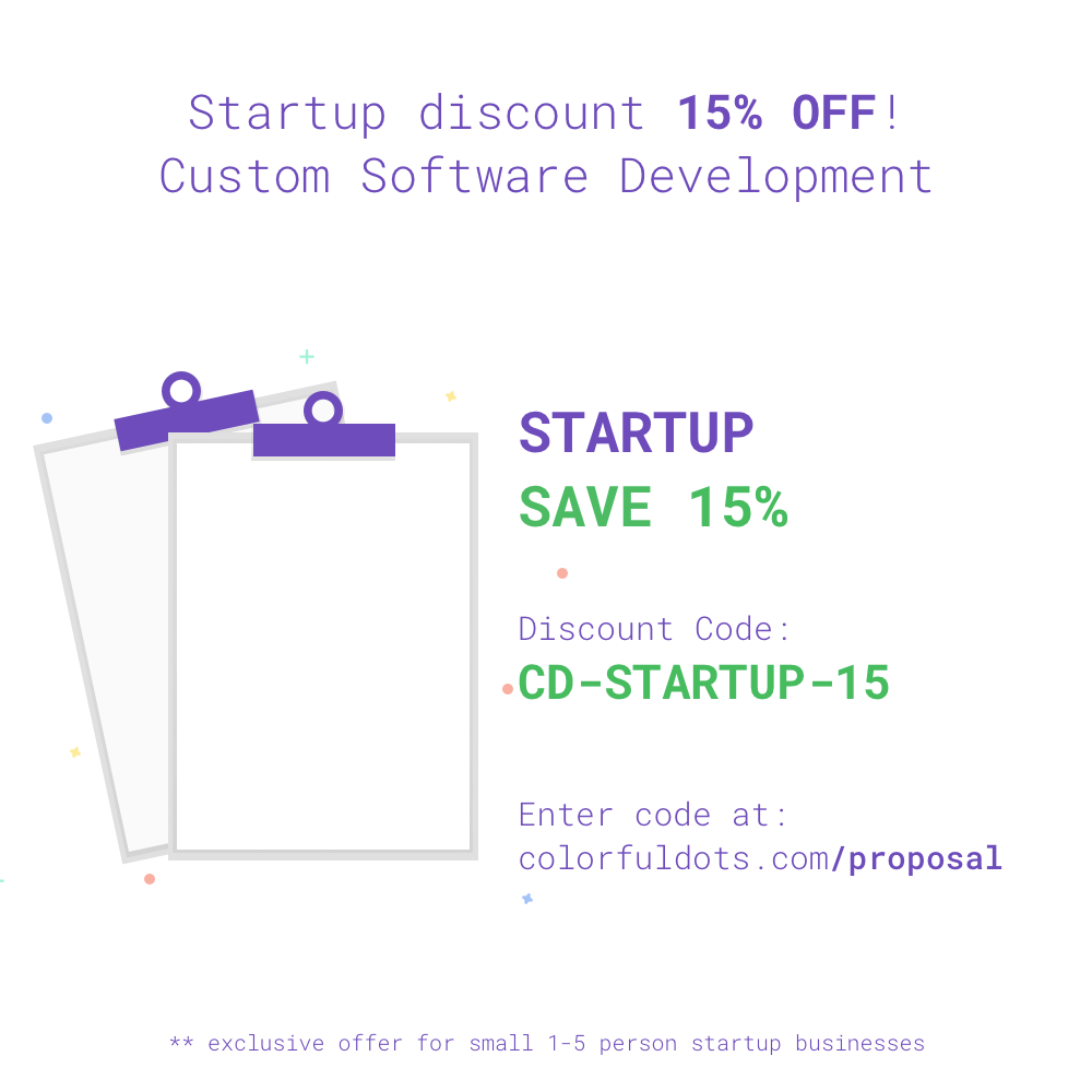 Colorful Dots, LLC - Discounts for Startup Businesses