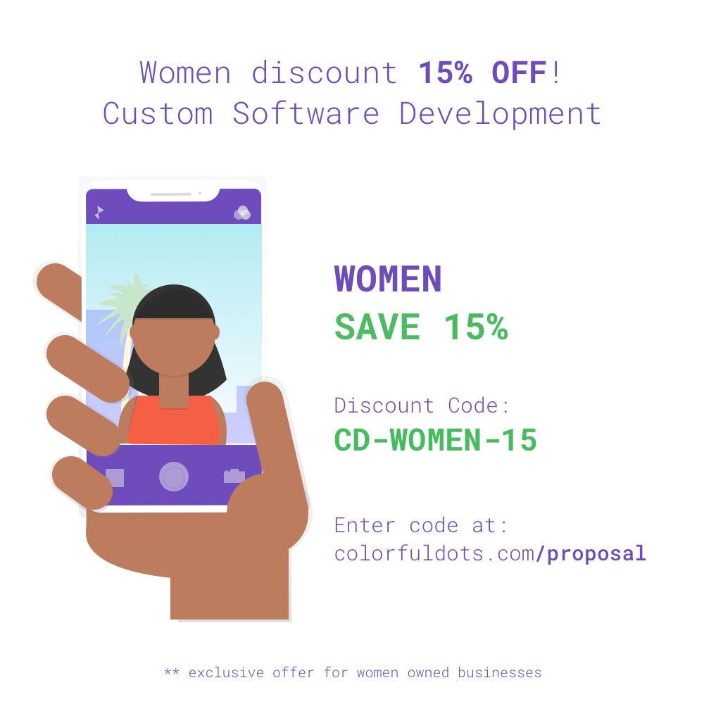 Colorful Dots, LLC - Discounts for Women Owned Businesses