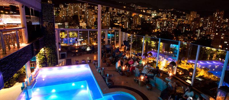 Envy rooftop bar