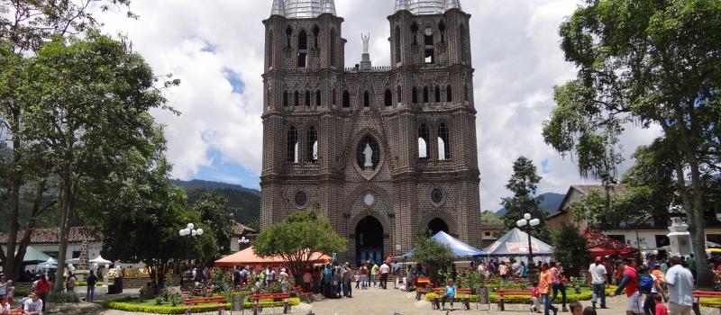 Jardin Town Around Medellin