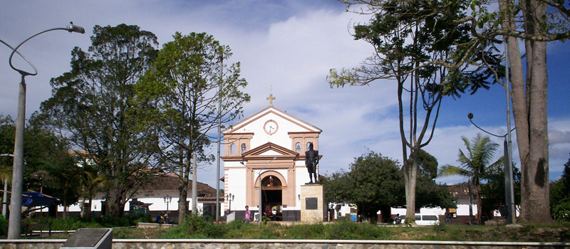 San Antonio Town Around Medellin