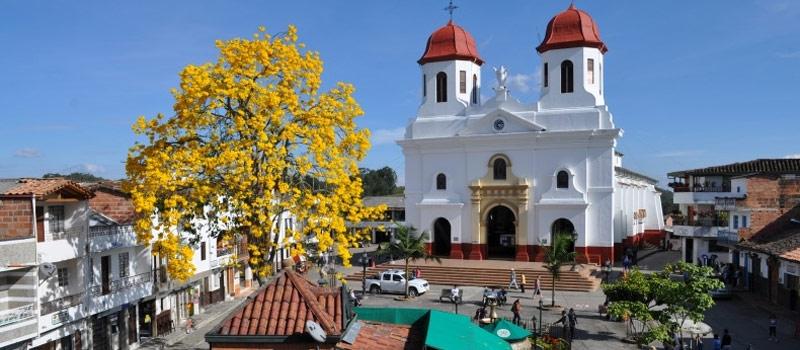 San Vicente Town Around Medellin