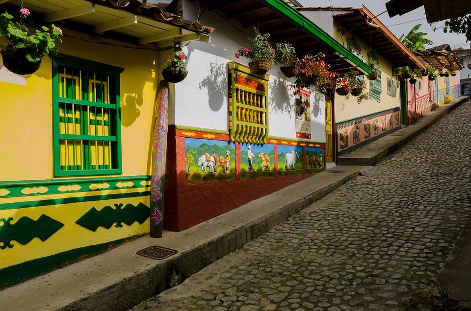 Guatape Town Around Medellin