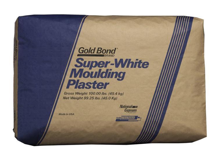 National Gypsum Gold Bond BRAND Moulding Plaster - 50 lb Bag