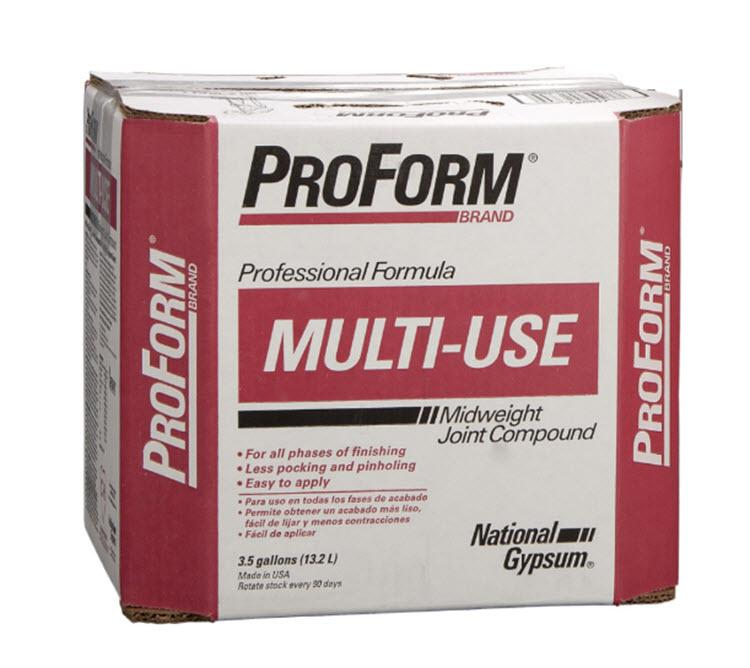 Gold bond multi use mud 3 5 gallon box at capitol building for Gold bond joint compound