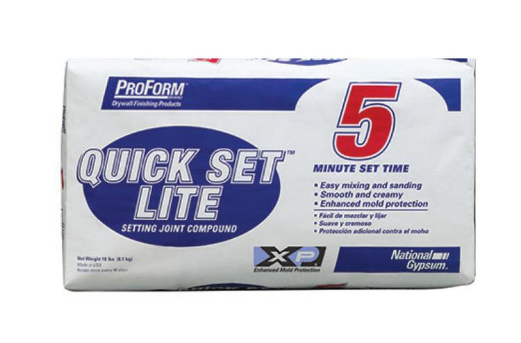 National Gypsum ProForm Quick Set Lite 5 Minute Setting