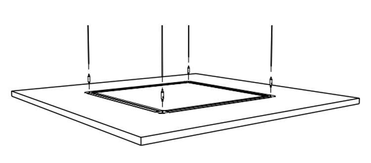 Soundscapes Shapes Deck Hanging Kit 2 Sets Per Kit 5450