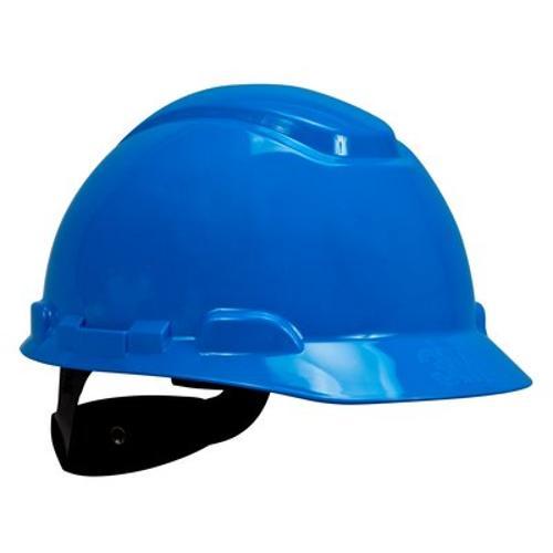 3M H-700 Series Hard Hat w/ 4-Point Ratchet Suspension - Blue