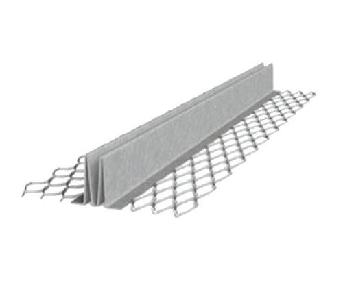 1/2 in x 10 ft Galvanized #15 Double V Expansion Joint