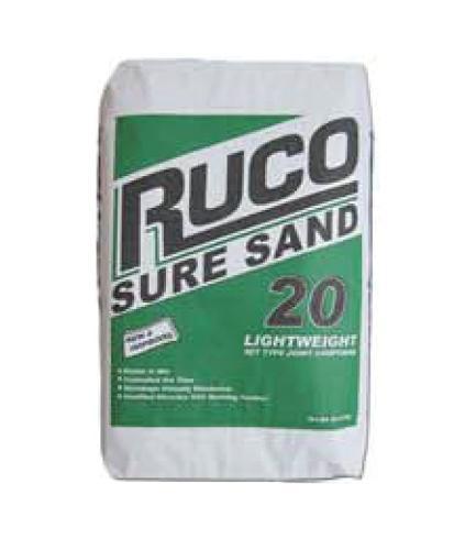 RUCO Sure Sand 20 Minute Setting Compound - 18 lb Bag