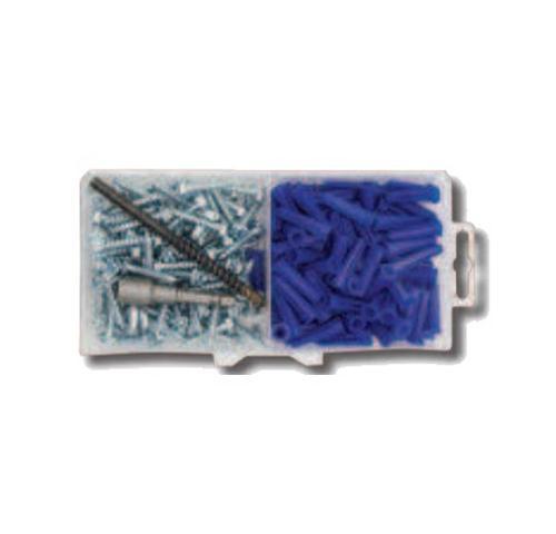 1 in x #10 DeWALT Hex Head Plastic Anchor Kit