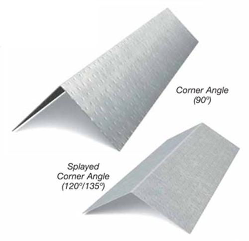 2 in x 2 in x 10 ft x 18 Gauge Corner Angle