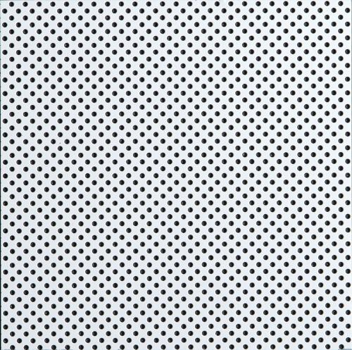 2 ft x 2 ft MetalWorks 15/16 in Square Tegular Microperforated Silver Grey - 6462M2SG