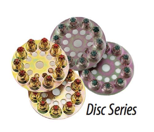 25 Caliber ITW Ramset® 2D60 Disc Shot Load - Brown