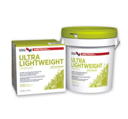 USG Sheetrock Brand UltraLightweight Joint Compound - 4.5 Gallon