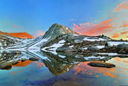 High Sierra Sunset by Judi Richins