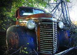Truck Grille by Allan Goodman