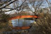 Foot Bridge Bon Secours Retreat by Gary S. Irons