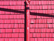 Red Siding by Janusz Jachowicz