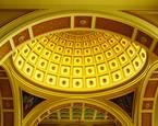 Franciscan Monastery Dome Interior by Jerome D. Julius Jr.