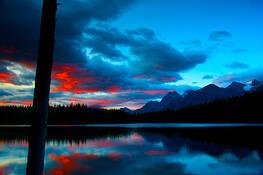 Mountain Lake by Paul Kloschinsky
