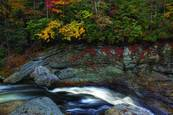 Top Of Linville Falls by Gregory Allen Butler