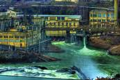 Oregon City Mill #3 by Ray Tatyrek