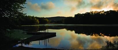 Fishing Pond by Dennis Newton