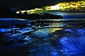 North Shore Cool Ice by Dennis Newton
