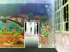 Graffiti Doorway by Anthony Luzi