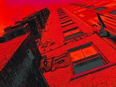 Red Derelict by Edgar R. Farrera