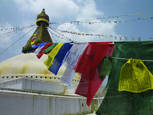 Boudnath Stupa by Benny Asrul