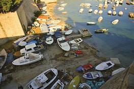 Dubrovnik Harbor by Ethan Salter