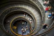 Vatican Stairs by John Petersen