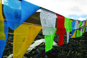 Prayer Flags by Matilde Simas