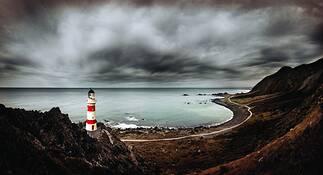 Cape Palliser by Peter Eastway