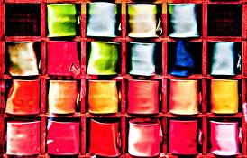 Colorful Sorrento by Agnieszka Szczurowska