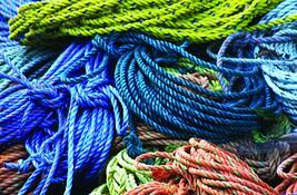 Blue Rope by Diane Seskes